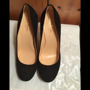 Kate Spade of New York suede pumps